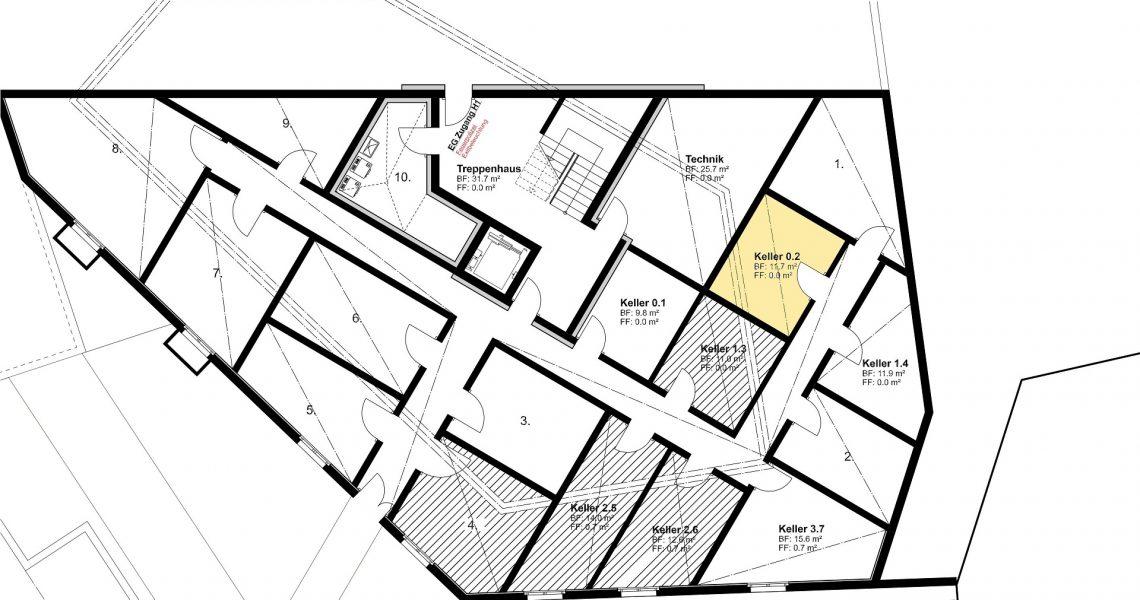 KG Keller zu Wohnung 0.2 H1
