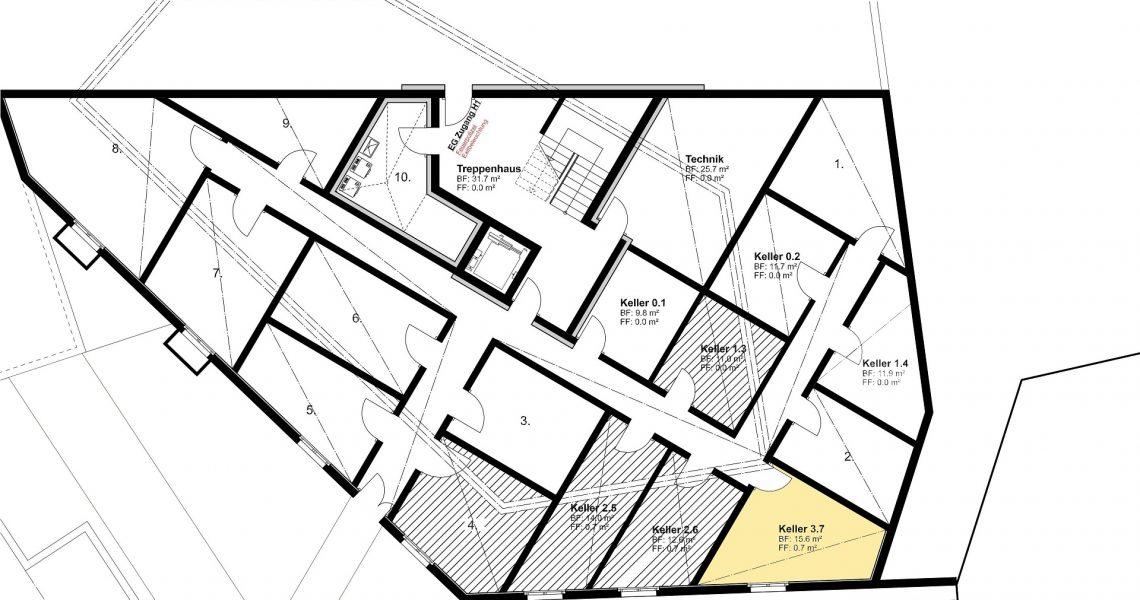 KG Keller zu Wohnung 3.7 H1